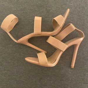 STEVE MADDEN sexy nude heels